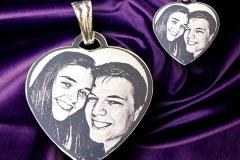 For die-hard romantics a small Heart Photo Pendant
